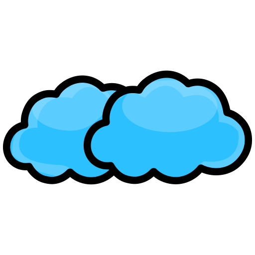 cloud, clouds, cloudy, network, weather icon