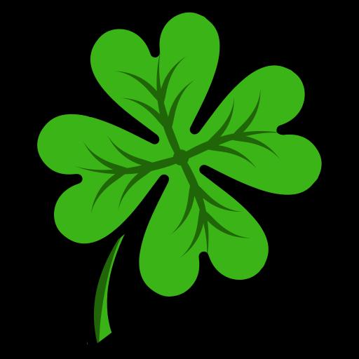 clover, four, leaf icon