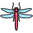 bug, creature, dragonfly, insect icon