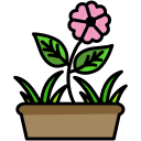 beauty, blooms, camping, flower, nature icon
