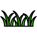 eco, garden, grass icon