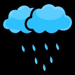 cloud, nature, rain, weather icon