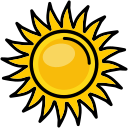 heat, nature, shine, sun, sunny icon