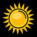 shine, sun, heat, sunny, nature icon