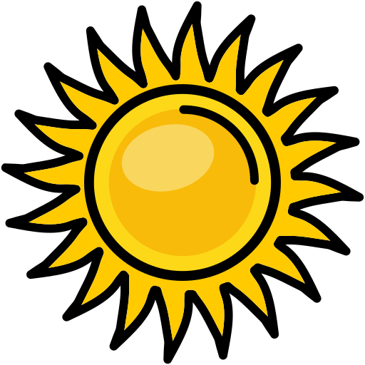 heat, nature, shine, sun, sunny icon