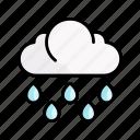 weather, rain, cloud, spring, nature, season