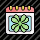 calendar, date, spring, nature, season