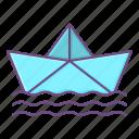 paper, boat, ship, origami, sailboat, paperboat
