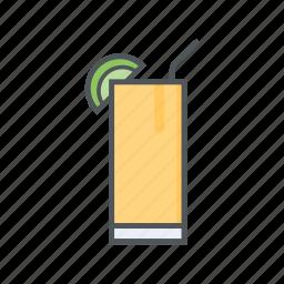 beverages, filled, outline, spring, summer, syrup icon