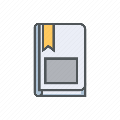 book, filled, letter, note, outline, spring icon