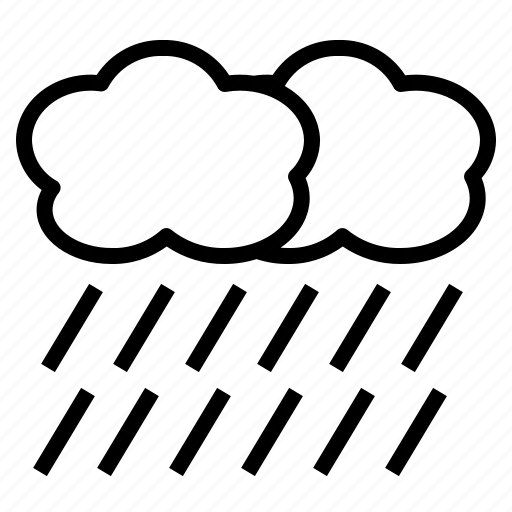 Shower, rainfall, rainy, rain, wet icon