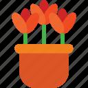 botanical, garden, nature, tulip, tulips icon