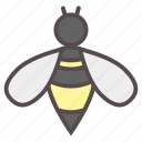 bee, bug, fly, honey, insect, nectar, spring icon