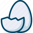 bird, easter, egg icon
