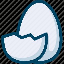 bird, easter, egg icon
