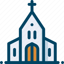 building, church, easter, religion icon