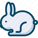 animal, bunny, mammal, nature, rabbit icon
