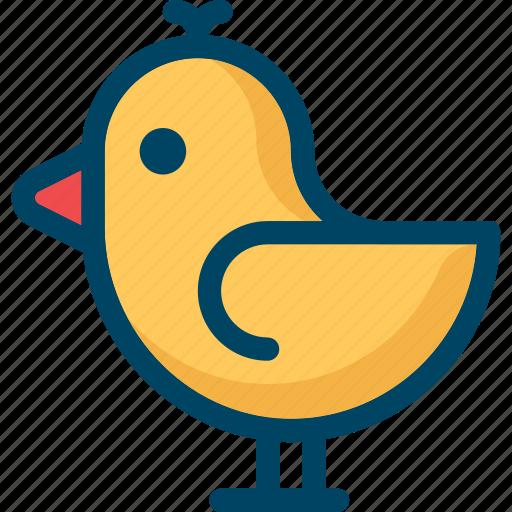 animal, bird, nature, spring, tweet icon