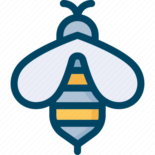 bee, honey, insect, nature icon