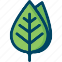 green, leaf, natire, spring, tree icon