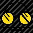 eye, glasses, spring, view icon