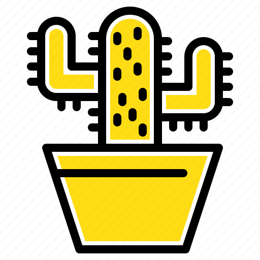 Cactos, nature, pot, spring icon - Download on Iconfinder