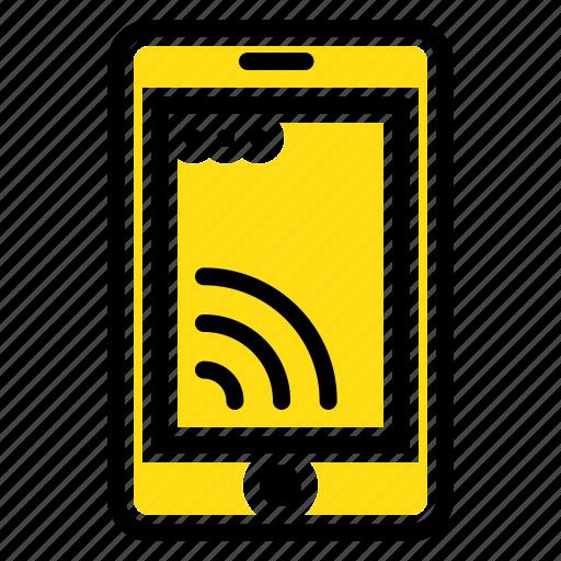 cell, mobile, service, wifi icon