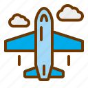 flight, plane, travel, trip, vacation icon