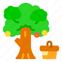 food, nature, picnic, spring, tree