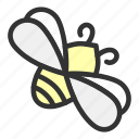 animal, bee, easter, honey, insect, nature, spring icon
