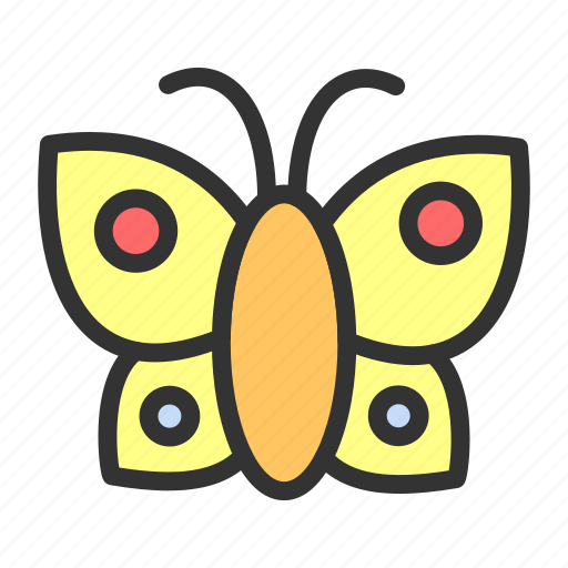 animal, butterfly, easter, spring icon