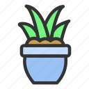 easter, grass, green, plant, spring icon