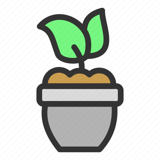 easter, flower, garden, plant, pot, spring icon