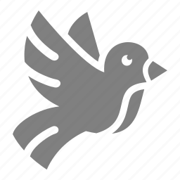 bird, easter, flying, spring icon
