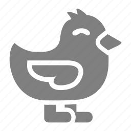 chicken, chicks, easter, spring icon