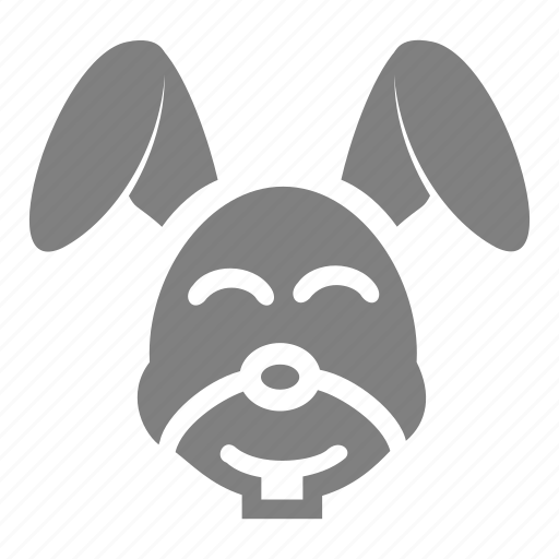 animal, easter, rabbit, spring icon