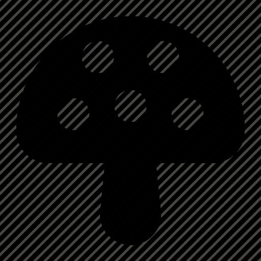 mushroom, plant, spring icon
