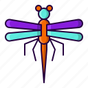 animal, dragonfly, fly, insect icon