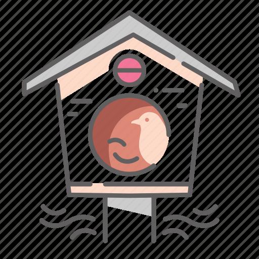 Bird, birdhouse, house, nest, spring icon - Download on Iconfinder