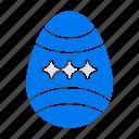 bird, decoration, easter, egg