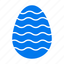 decoration, easter, egg icon