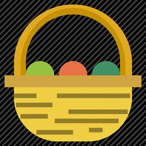 Basket Basketry Basketwork Hamper Picnic Wicker Icon Download On Iconfinder