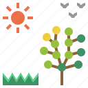 blossom, season, spring, springtime, warm icon