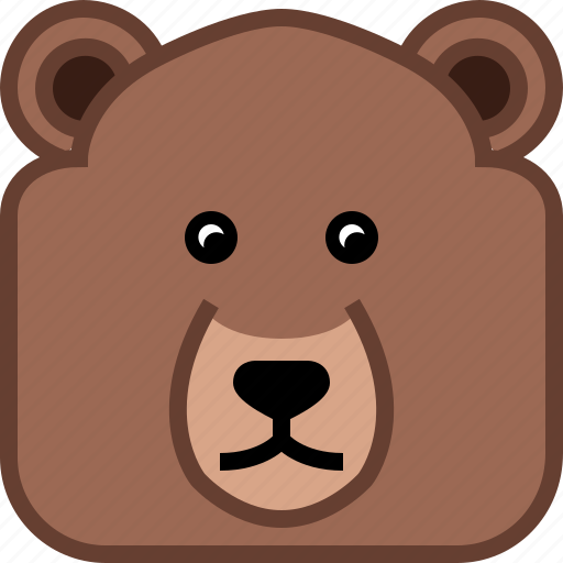 Avatar 2 Animals: Animals, Avatar, Bear, Grizly, Square, Teddy, Yumminky Icon