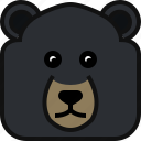 animals, avatar, bear, square, teddy, yumminky, zoo icon