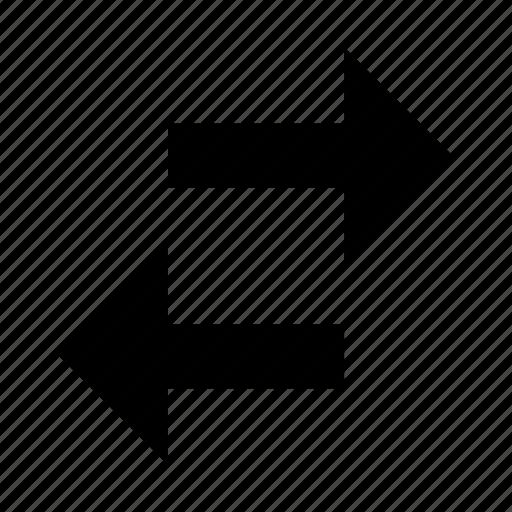 arrow, arrows, bidirectional, left, navigation, right icon