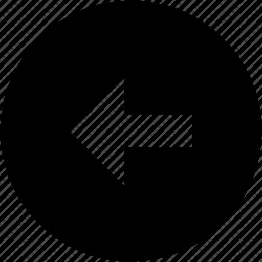 arrow, direction, left, ui icon