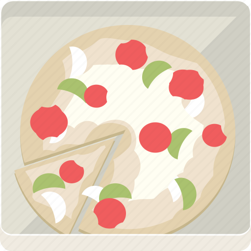 food, junk, pizza icon
