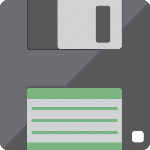 disc, disk, floppy, storage icon