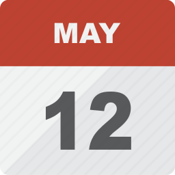 calendar, date, day, event, may, month, schedule icon